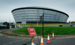 Roads around the SEC in Glasgow will be closed