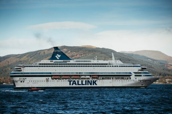 Cop26: Second Tallink ship docks on the Clyde to provide accommodation for workers