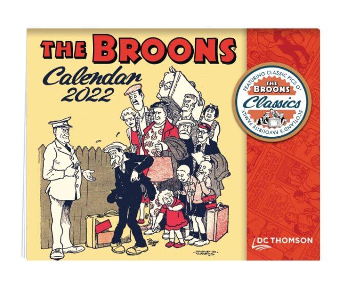 The Broons Calendar.
