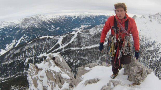 Tom Ballard in BBC film The Last Mountain