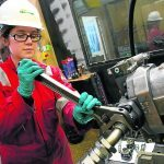 Women in Energy: Apprentice Leanne paves the way for the next generation