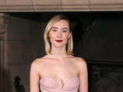 Saoirse Ronan arriving at the Scottish premiere of Mary Queen of Scots at Edinburgh Castle (Jane Barlow/PA)