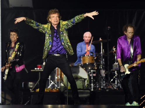 The Rolling Stones in Pasadena (AP)