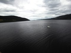 A view of Loch Ness from Urquhart Castle (Yui Mok/PA)