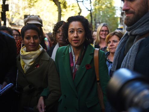 Journalist, writer and broadcaster Samira Ahmed is questioning why she was paid less than a male colleague for what she says is a 'very similar job' (Kirsty O'Connor/PA)