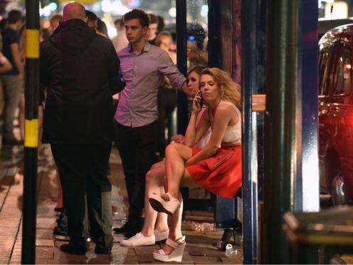 The 10pm curfew has hit Revolution Bars's sales. (Joe Giddens/PA)