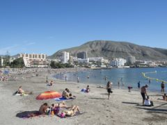The Canary Islands have been added to the Government's list of travel corridors, Transport Secretary Grant Shapps said (Lauren Hurley/PA)