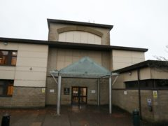 The 43-year-old is due to appear at Airdrie Sheriff Court on Monday (Andrew Milligan/PA)