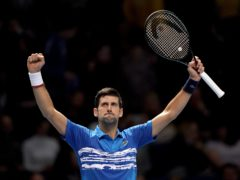 Novak Djokovic all-but secured the year-end number one spot (John Walton/PA)