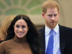 The Duke and Duchess of Sussex hosted a specially curated edition of Time100 Talks (Aaron Chown/PA)