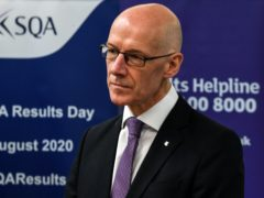 Deputy First Minister and Education Secretary John Swinney said that there is a risk students may not be able to return home this Christmas (Andy Buchanan/PA)