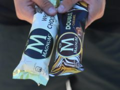 Magnum owner Unilever said sales were down for outdoor ice cream sales, but, growth remained in soap and bleach (Mike Egerton / PA)
