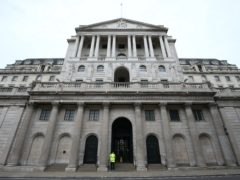 The Bank of England is considering negative interest rates (Jonathan Brady/PA)