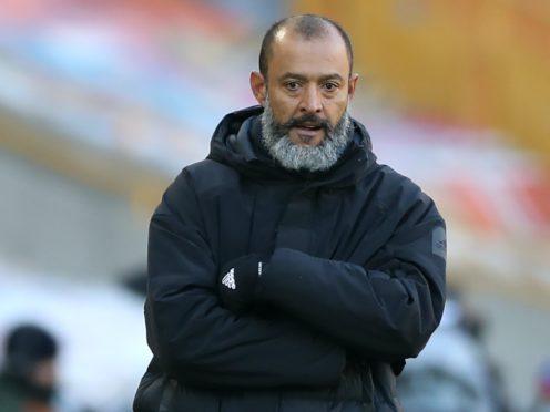 Manager Nuno Espirito Santo wants consistency. (Nick Potts/PA)