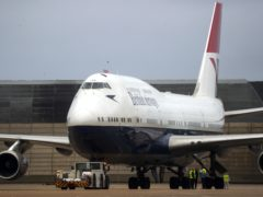 A retired British Airways Boeing 747 aircraft is to be converted into a cinema, the airline has announced (Steve Parsons/PA)
