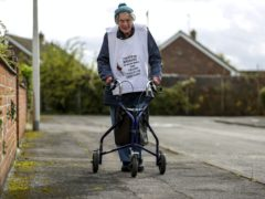 104-year-old Ruth Saunders (Steve Parsons/PA)