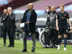 Pep Guardiola believes Manchester City are struggling because of injuries and a hectic schedule (Paul Childs/PA)