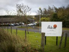 Redmill Care Home in East Whitburn, West Lothian, which is operated by HC-One (Jane Barlow/PA)
