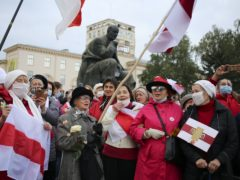 Protests continue in Belarus (AP Photo)