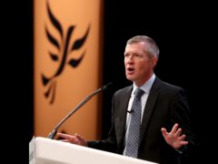 Willie Rennie addressed his party's virtual autumn conference (Gareth Fuller/PA)