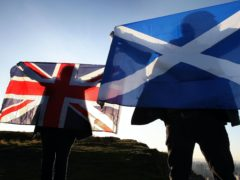 Respondents were asked for their views on Scottish independence (David Cheskin/PA)