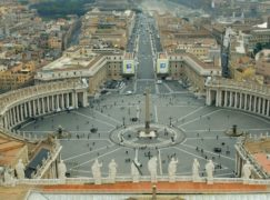 St Peter's Square in Rome (Phil Noble/PA)