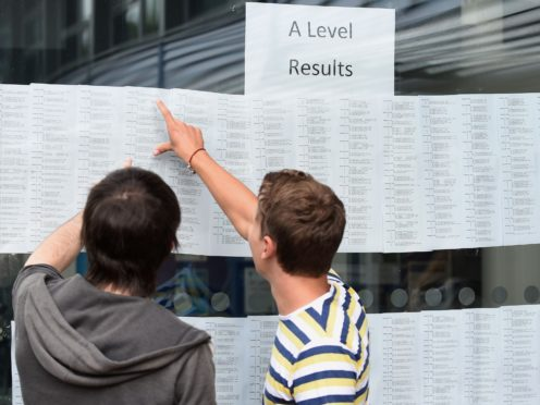 The proposal is one of a series of recommendations from an 18-month admissions review by Universities UK (Joe Giddens/PA)