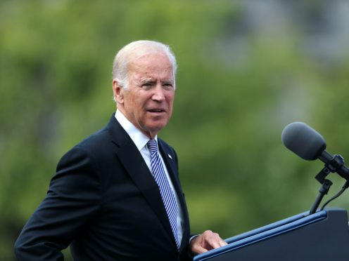 US president-elect Joe Biden says the Irish border must remain open after Brexit (Niall Carson/PA)