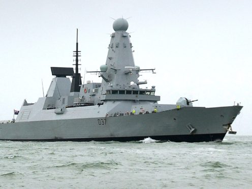 Scrambling a Royal Navy ship to Scotland takes too long, the SNP say (MoD/PA)