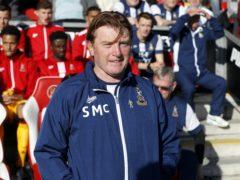 Bradford boss Stuart McCall could make changes for the trip to Tonbridge (Martin Rickett/PA)