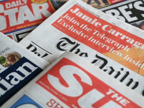 What the papers say – November 25 (PA)