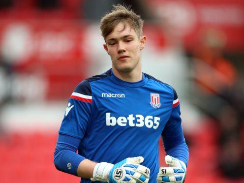 Goalkeeper Joe Bursik is in line for his Stoke debut this weekend (Nigel French/PA)