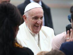 Pope Francis (Yui Mok/PA)