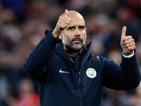 Manchester City's director of football Txiki Begiristain believes the club's future is guaranteed under Pep Guardiola (Martin Rickett/PA) manager Pep Guardiola acknowledges the fans after the Premier League match at Anfield, Liverpool.