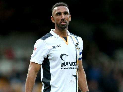 Leon Legge has served a one-game suspension after being sent off in Port Vale's loss at Newport (Barrington Coombs/PA)