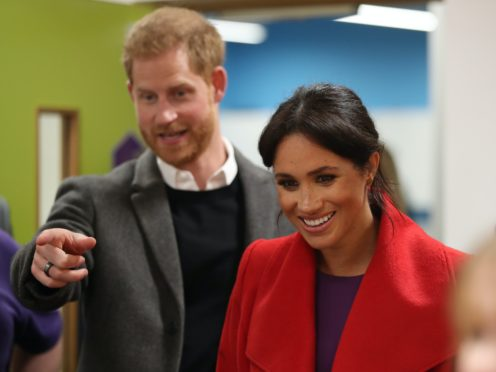 The Duke and Duchess of Sussex have strengthened their American public relations team ahead of an expected expansion of their charitable work and Netflix projects (Danny Lawson/PA)