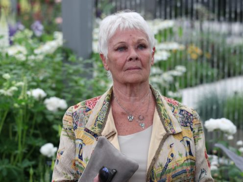 Dame Judi Dench has dedicated an acre of woodland to her loved ones (Yui Mok/PA)