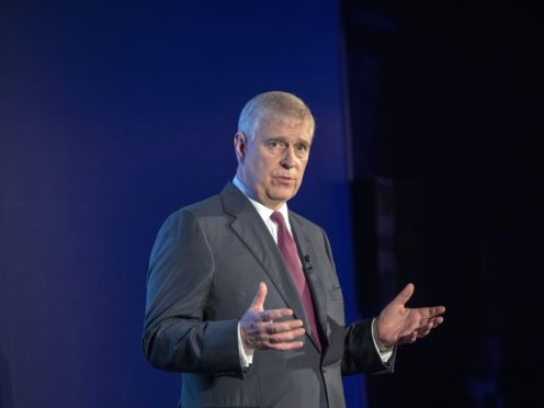 The Duke of York stepped away from public life a year ago (Steve Parsons/PA)
