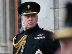 It has been one year since the Duke of York's interview on BBC Newsnight (Jonathan Brady/PA)