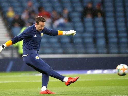 Jon McLaughlin is aiming for a spot at Euro 2020 with Scotland (Steve Walsh/PA)