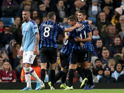 Liverpool are away against Atalanta, who faced Manchester City in last season's Champions League group stage (Martin Rickett/PA)