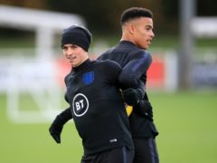 Phil Foden, left, has been recalled by Gareth Southgate but Mason Greenwood misses out for England (Mike Egerton/PA)