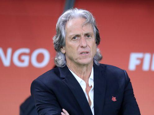 Benfica coach Jorge Jesus has Covid concerns ahead of facing Rangers (Adam Davy/PA)