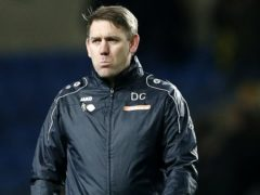 Hartlepool manager Dave Challinor (Darren Staples/PA)