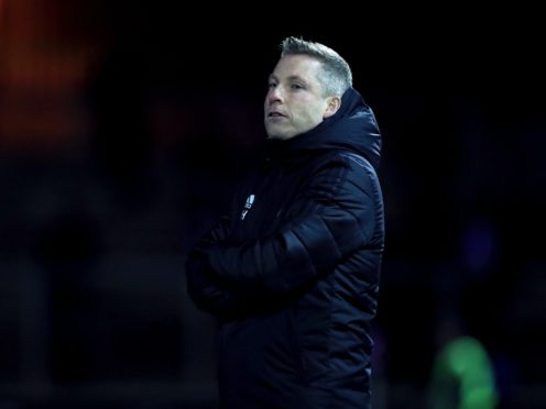 Neil Harris' Cardiff have won only one of their last eight games and lost three of their last five (Mike Egerton/PA).
