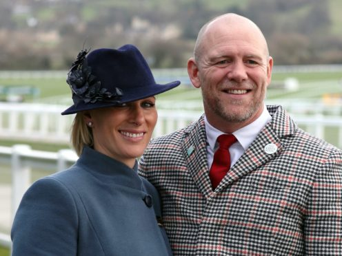 Zara and Mike Tindall, who had two miscarriages (Andrew Matthews/PA)