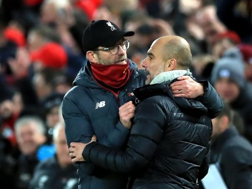 Liverpool manager Jurgen Klopp insists Manchester City still pose the biggest threat to his Premier League champions (Peter Byrne/PA)