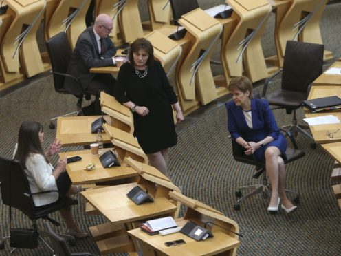 MSPs have backed plans to limit Scottish ministers having up to five days of early access to official statistics (Fraser Bremner/Scottish Daily Mail/PA)