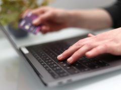 More people have been turning to online shopping (PA)
