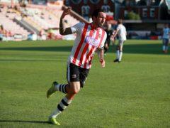 Ryan Bowman scored for Exeter at Bradford (Adam Davy/PA)